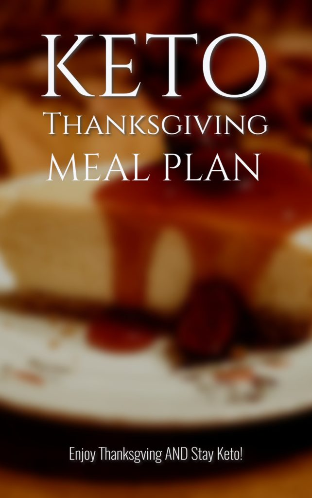 keto thanksgiving meal plan